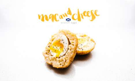 Cheesy Scotch Eggs - This Mac and Cheese Scotch Egg Combines Two Pub Food Dishes into One