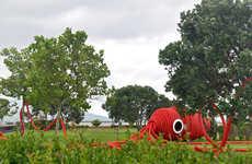 'Vernie' is an Interactive Squid Art Piece Focused on Audio & Sound