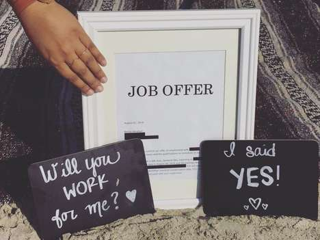 Comedic Job Announcements - This Woman's Job Announcement is a Parody on Marriage Proposals