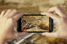 Adventurous Camera Smartphones - This Smartphone Action Camera Offers Ruggedly Durable Functioning