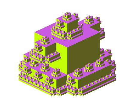 Fractal Architecture Web Tools - 'Castles made of Castles' is a Visually Stimulating Browser Game