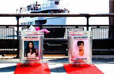 Celebrity Trash Cans