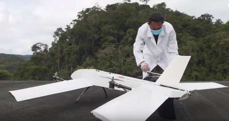 Rural Medical Delivery Drones - Vayu Drones Bring Medical Technology and Tools to Isolated Areas