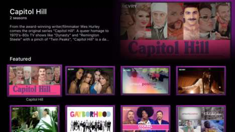 LGBT Streaming Apps - The Revry App Focuses On Streaming LGBT Multimedia Content