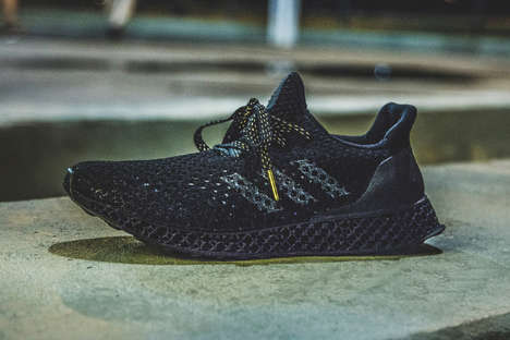 Olympian 3D-Printed Shoes - Adidas is Giving Rio 2016 Olympians Their Own Futurecraft Shoes