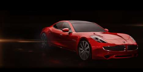 Solar-Paneled Sports Cars - The Karma Revero Has a Solar-Paneled Roof For Extra Electric Power