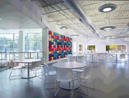 Color-Changing Wall Treatments - This Piece of Walls Art Combines Technology and Design