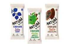 Wholesome Snack Bar Graphics - These Snacks Offer Delicious Flavors and Healthy Ingredients