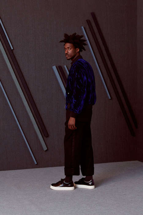 Multi-Brand Menswear Editorials - oki-ni's Fall/Winter Editorial Features a Variety of Cozy Styles