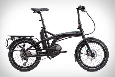 Foldable Electric Bikes - This Compact E-Bike Makes for Easy Portability Between Rides