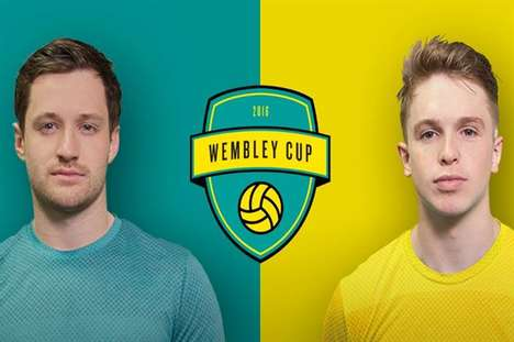 Competitive Sports Webseries - EE is Collaborating with YouTubers for the 'The Wembley Cup' Series