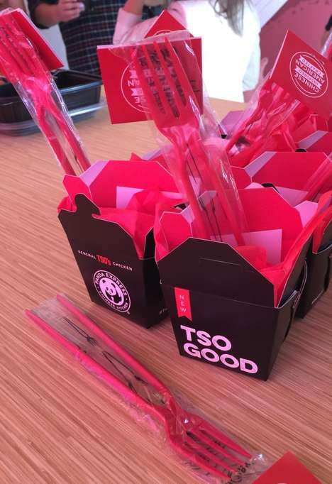 Dual-Use Chopsticks - Panda Express Created the Chork to Help Americans Use Chopsticks
