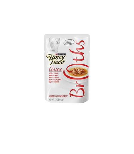 Cat-Friendly Broth Meals - Fancy Feast Makes Seafood and Chicken Broth for Cats