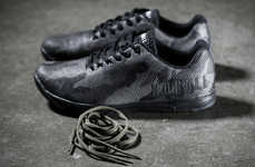 Gimmick-Free Training Footwear - The NOBULL Camo Trainer Sneakers Opt for Simplistic Engineering