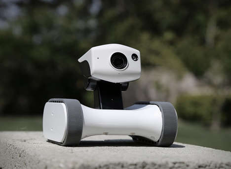 Monitoring Home Robots - The 'Riley' Bot Amplifies Home Security Constant Automated Patrolling