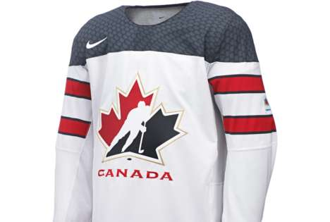 Lightweight Hockey Jerseys - The Team Canada Nike Uniform Enhances Mobility & Minimizes Distraction