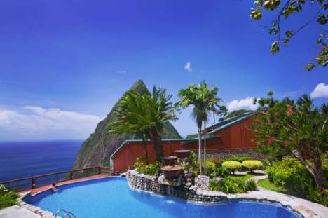 Child-Free Eco Hotels - The Ladera Resort Specializes in Luxury Eco-Tourism for Couples