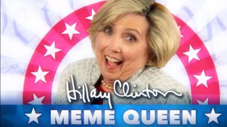 Parody Campaign Ads - The 'Hillary Clinton: Meme Queen 2016' Ad Has a Fake Hillary Acting Out Memes