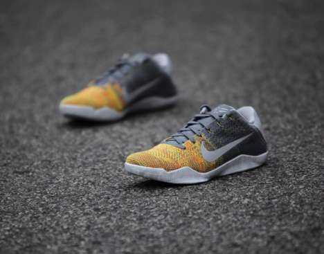 Athlete-Designed Gradient Sneakers - These Nike Shoes Were Created in Collaboration with Kobe Bryant