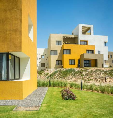 Deconstructed Desert Housing - Sanjay Puri Architects Developed LEGO-Like Housing Units