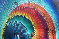 Multidimensional Kaleidoscopic Murals