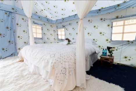 Lavish Festival Accommodations - Glastonbury's Camp Kerala Caters to Well-Off Festival-Goers