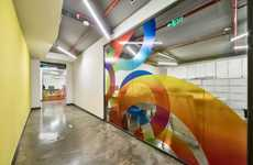 Vividly Graphic Office Spaces