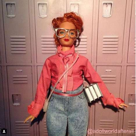 Thriller Series Barbie Dolls - 'Queen Barb' is an Homage to the Character from 'Stranger Things'