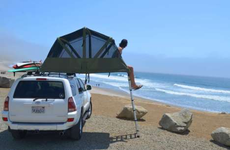 Lightweight Rooftop Tents - The Baja Series Tents Promise Year-Round Comfort