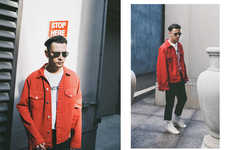 Moody Menswear Editorials - CNTRBND Shows Off Its Offerings to the Toronto Fashion Scene