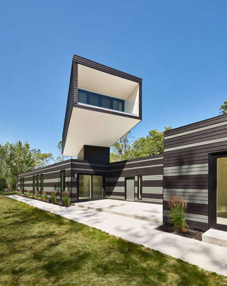 Spire Lookout Cottages - This Cabin by Kariouk Associates Offers Unparellel Views of Lake Erie