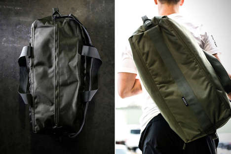 Reliable Duffle Backpacks - NOBULL's 'Traditional Duffle' Provides Modern Luggage Without Gimmicks