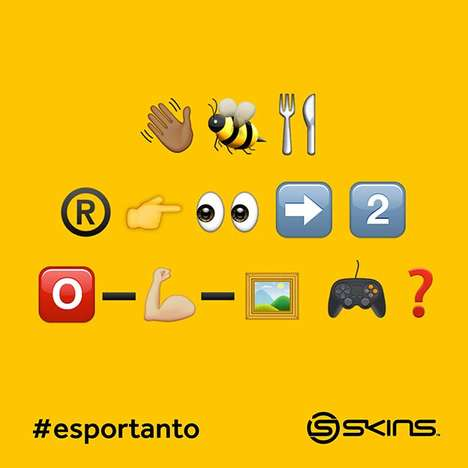 Olympic Emoji Languages - SKINS Designed 'Esportanto' as a Universal Language for Sports Fans