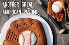 Baseball Mitt-Shaped Cakes - Carvel's New Baseball Mitt Cake Celebrate a Classic American Pastime