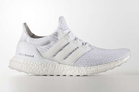 Supportive Ventilated Sneakers - Adidas' Ultra Boost Offers Increased Stability And a Knitted Design