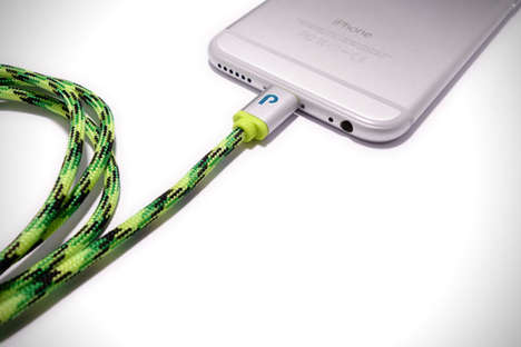 Durable Rope Chargers - The Paracable Smartphone Cords Prevent Breakage and Wire Splintering