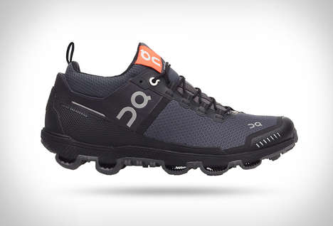 Spiked Running Sneakers - The Cloudventure Flexible Footwear is Built to Grab the Ground