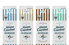 These Cartons Offer a Variety of Mixes That Can Transform into Ice Cream