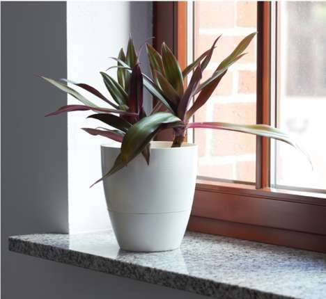 Smart Modern Planters - The 'Dori' Flowerpot Uses Senors and an Irrigation System to Water Plants