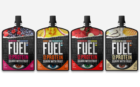 Protein-Boosted Breakfasts - The Fuel10K Breakfast Pouches are Designed for Fueling Up on the Go