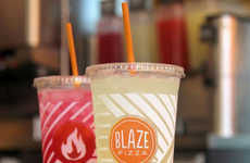 Fruity Fast Casual Lemonades - Blaze Pizza's New Agua Fresca Drinks are a Refreshing Summer Option