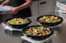 Fresh Pizza Chain Salads - Domino's Pizza is Now Offering Prepared Salads as a Healthy Dinner Option