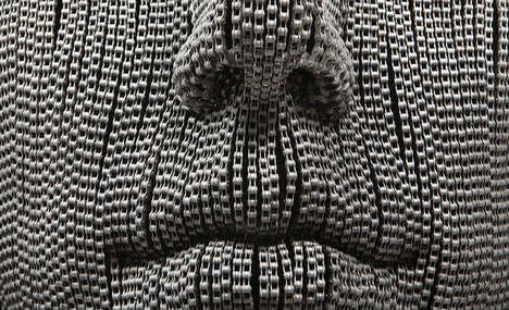 Lifelike Chain Sculptures - Young Deok Seo's Stunning Artwork Speaks to the Human Condition