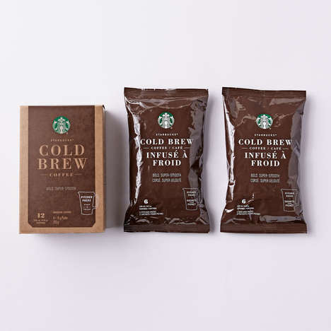 Branded Cold Brew Kits - This Kit Allows Consumers to Enjoy Starbucks' Cold Brew at Home