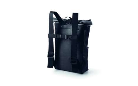 Sophisticated Cycling Rucksacks - This Urban Rucksack Fuses Functional Design With Urban Aesthetics