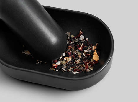 Modern Herb Grinders - This Mortar and Pestle Set Was Made Through 3D-Printing