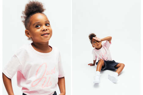 Streetwear-Inspired Kid's Clothing - Kith's Back-to-School Line Encourages Kids to Be Themselves