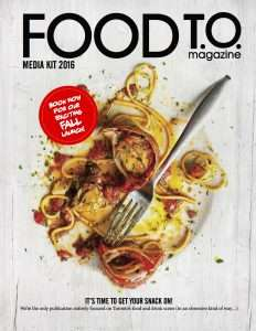 City-Specific Culinary Publications - 'Food T.O.' Will Showcase the Best of Toronto's Food Scene