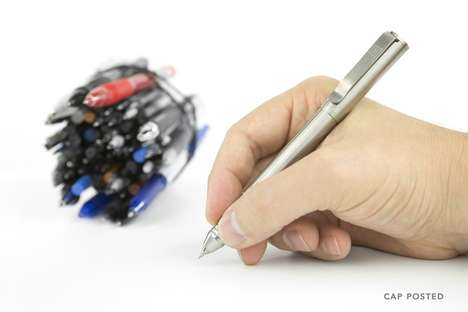 Versatile Refillable Pens - The 'Ti Arto' Pen Can Accept More Than 200 Different Cartridges