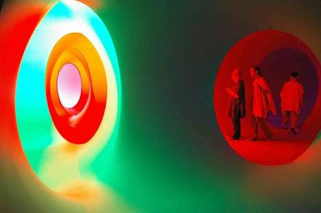 Technicolor Immersion Installations - The Colourscape Chamber Offers Environmental Color Changes